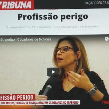 DIA A DIA DO OFICIAL DE JUSTIÇA VIRA REPORTAGEM