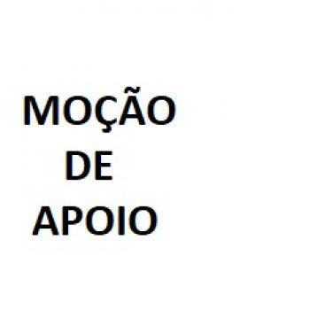 MOÇÃO DE APOIO