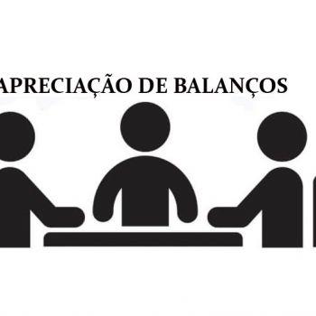 REUNIÃO PARA AVALIAR OS BALANÇOS