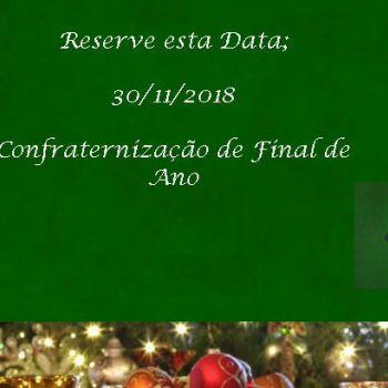 CONFRATERNIZAÇÃO 2018