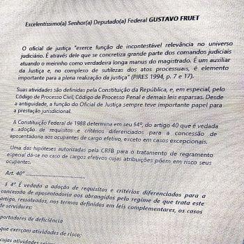 ASSOJAF PR NA MOBILIZAÇÃO PELA APOSENTADORIA POR ATIVIDADE DE RISCO