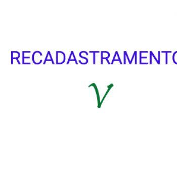 ATUALIZAÇÃO CADASTRAL
